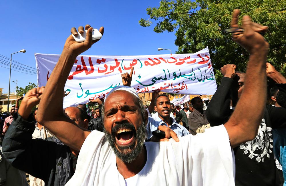 Le proteste a Khartum, in Sudan, il 16 gennaio. - Mohamed Nureldin Abdallah, Reuters/Contrasto