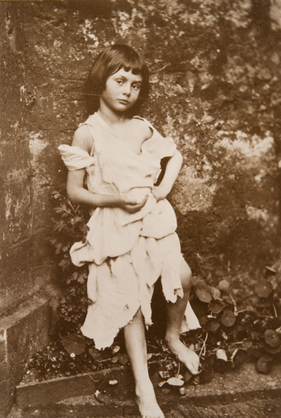 <em>Alice Liddell as the beggar maid</em>, 1859. - (Charles Lutwidge Dodgson, Collection of Tomsk Regional Art Museum)