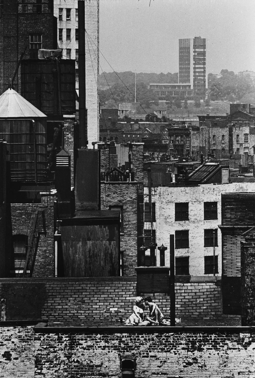 New York, il 6 giugno 1965. - (André Kertész)