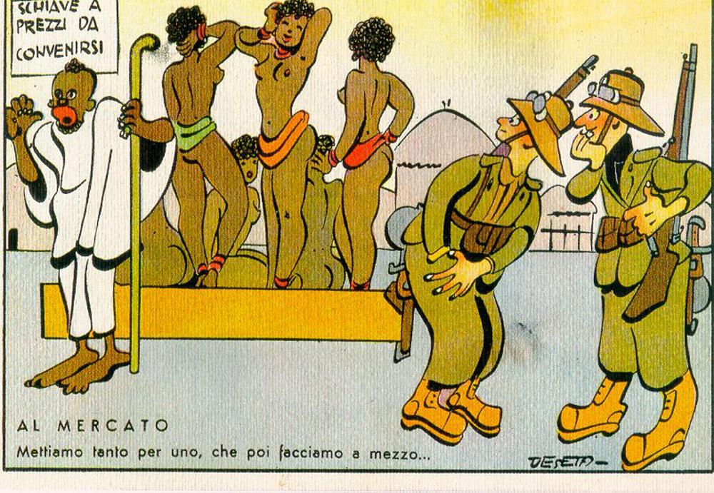 Al mercato, 1930 circa. - Enrico De Seta, Archivio Ufficio Storico Stato Maggiore dell'Esercito
