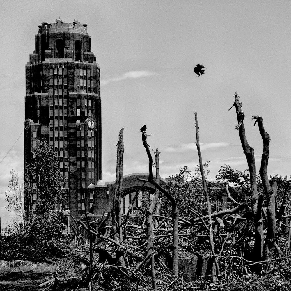 Una vecchia stazione ferroviaria a Buffalo, New York, 2015. La popolazione è di 261.310 abitanti e il 30,7 per cento vive sotto la soglia di povertà. - (Matt Black, Magnum/Contrasto)