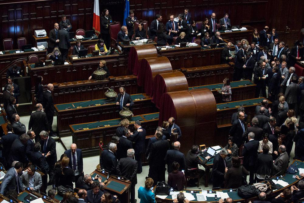 Le inutili votazioni per la corte costituzionale gerhard for Votazioni in parlamento