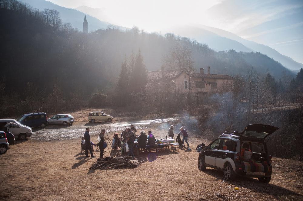 Il pranzo del mercoledì alla Colombera, 27 gennaio 2016. - Michele Lapini