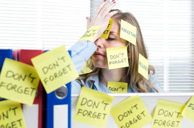 Dieci modi per affrontare tutte le cose che abbiamo da fare