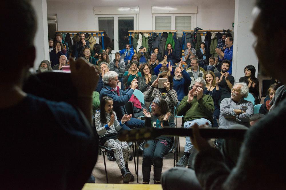 La seconda festa d'inverno alla Casa della paesologia di Trevico, il 20 febbraio 2016. - Andrea Sabbadini