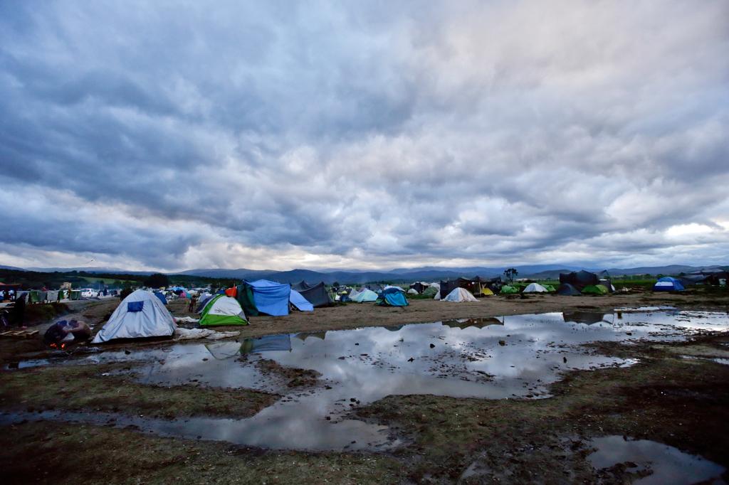 Il campo di Idomeni, il 4 maggio 2016. - Gregorio Borgia, Ap/Ansa