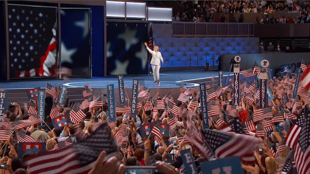 Il discorso di Hillary Clinton a Filadelfia