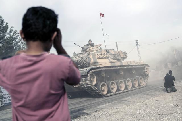 S'intensifica l'offensiva turca in Siria