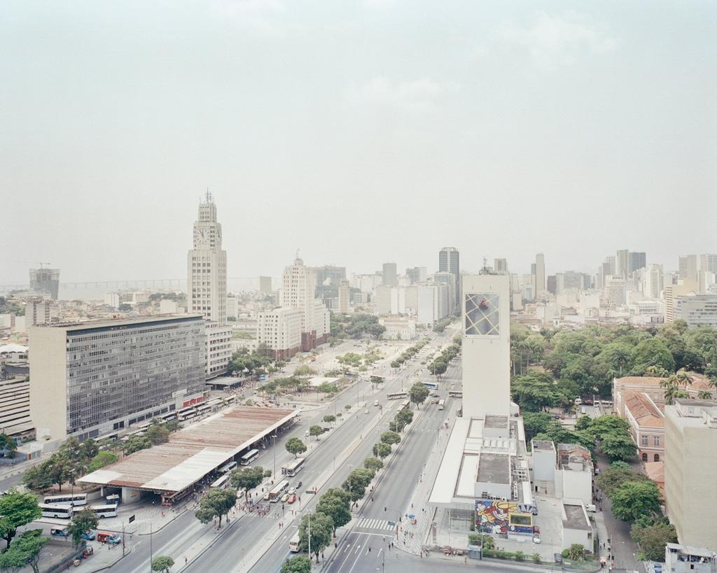 L'avenida Presidente Vargas a Rio de Janeiro, 2015. - Vincent Catala, Karma press photo/Vu
