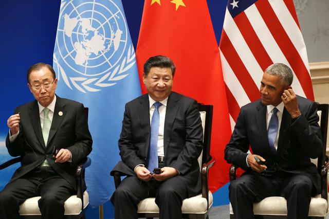 Cina e Stati Uniti ratificano l'accordo di Parigi sul clima