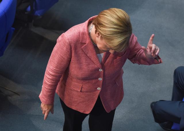 La lucidità di Angela Merkel serve all'Europa contro l'estrema destra
