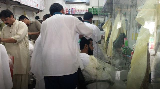 I barbieri della Mecca