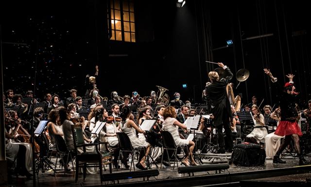Il concerto dell'Orchestra Senzaspine a Ferrara