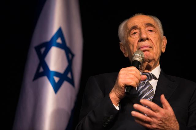Shimon Peres non è un uomo di pace