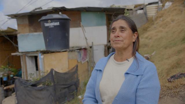 Gli sfollati colombiani aspettano la pace