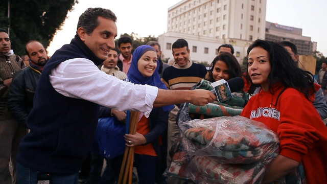 La regista di Tickling giants racconta il suo film su Bassem Youssef