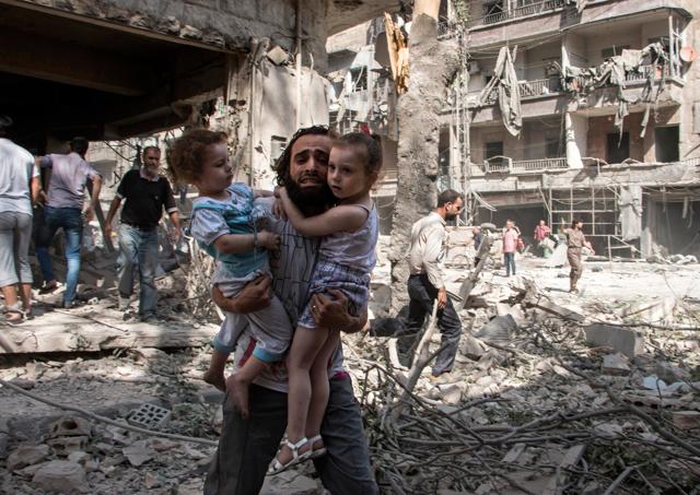 Vivere, fotografare e morire ad Aleppo