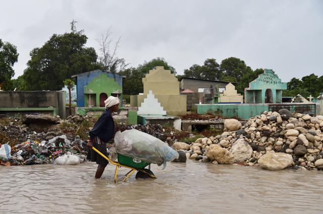 Il passaggio dell'uragano Matthew