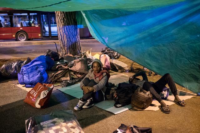 Lo sgombero dei migranti al Baobab rispecchia lo stallo politico di Roma