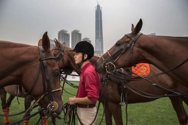 Lo sport dei nuovi re cinesi