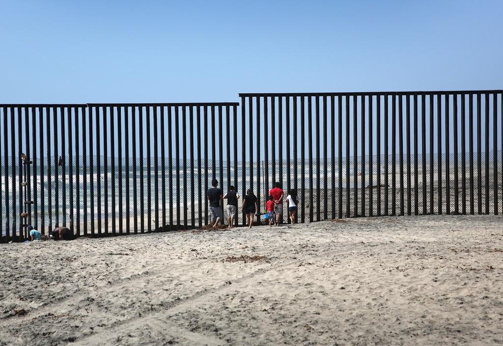 200 Realistico Il Progetto Di Trump Sul Muro Tra Messico E