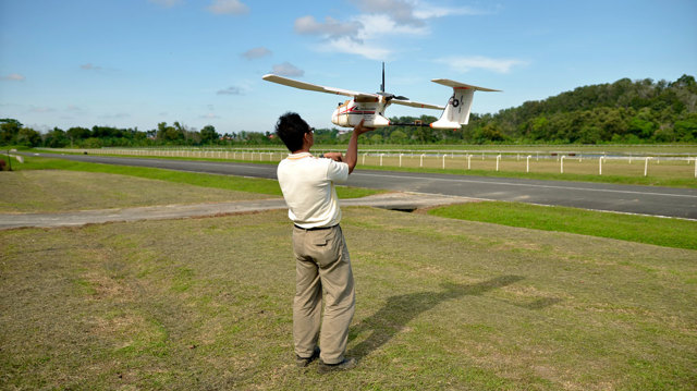Droni al servizio delle foreste