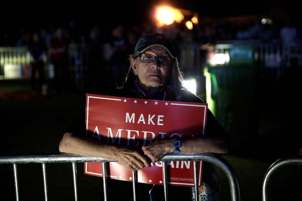 Una sostenitrice di Donald Trump a Panama City, in Florida, l'11 ottobre 2016. - Mike Segar, Reuters/Contrasto