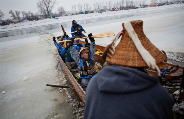 Continua la protesta dei sioux in North Dakota