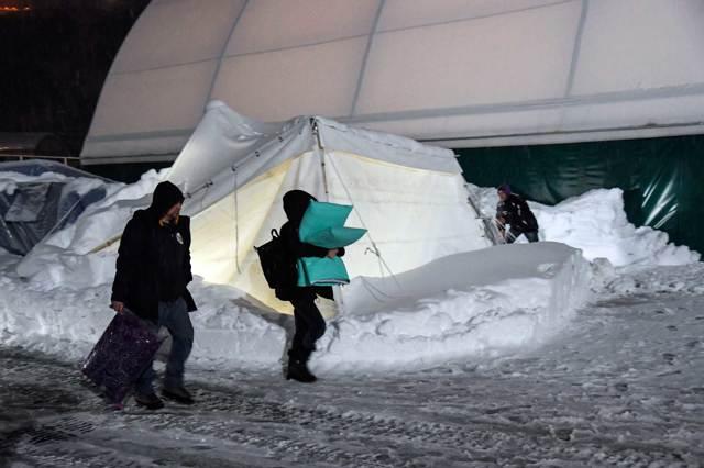 I difficili soccorsi dopo il terremoto in Italia centrale