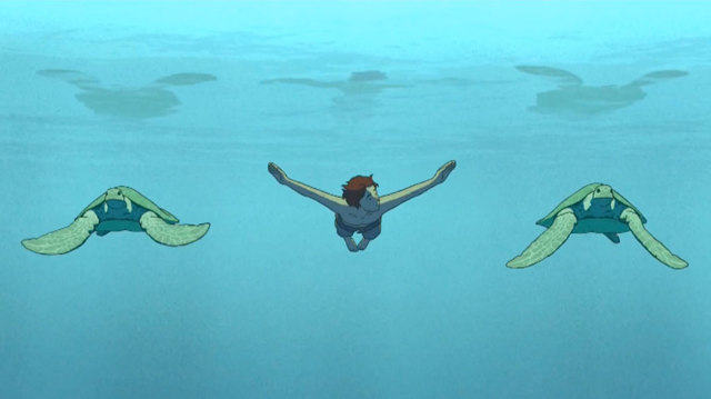 Michaël Dudok de Wit racconta una scena di La tartaruga rossa