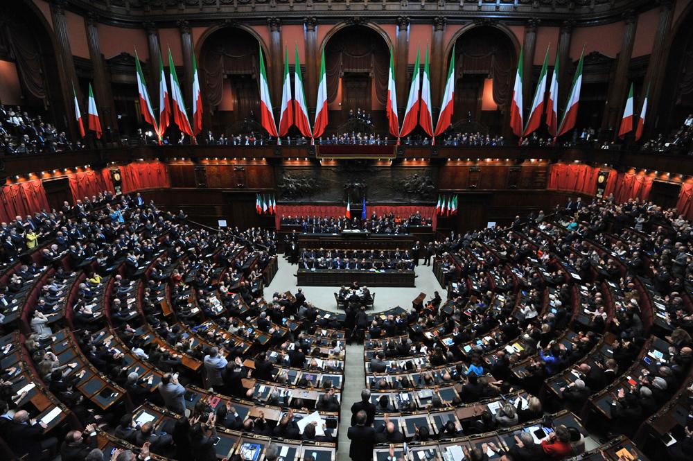 Nove anni con giorgio napolitano internazionale for Votazioni parlamento