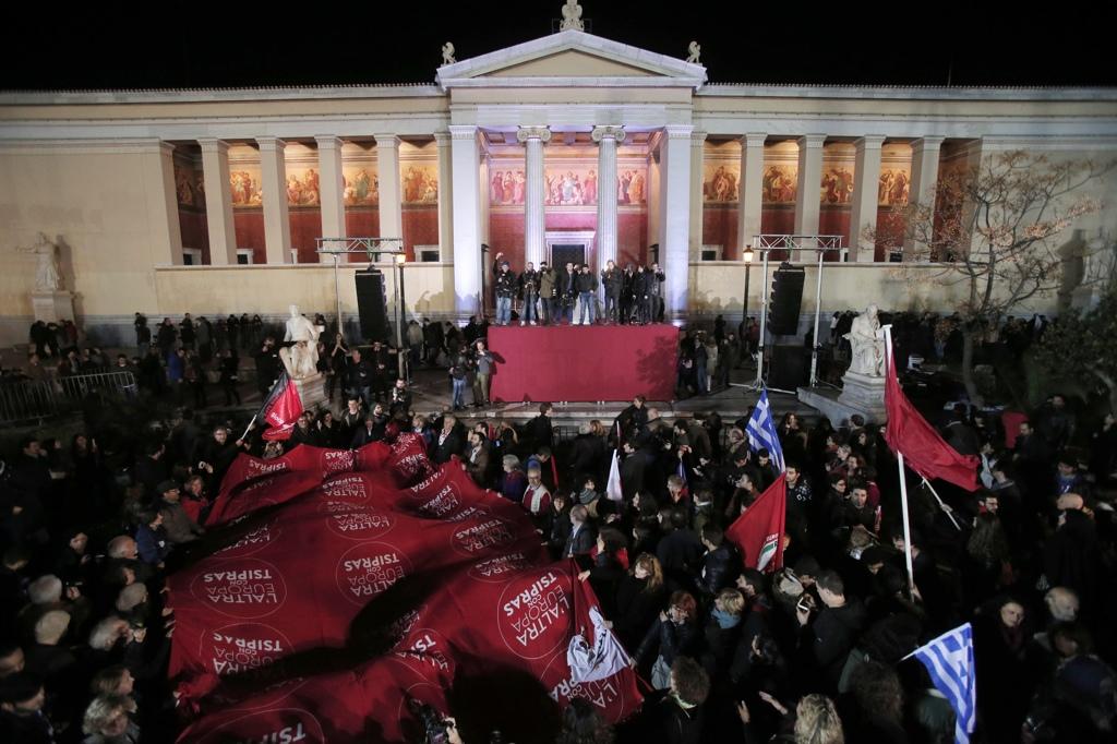 La vittoria di syriza in grecia internazionale for Stage parlamento italiano