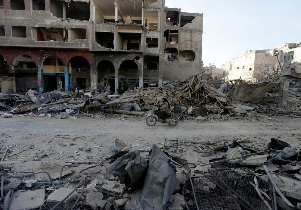 Dopo i bombardamenti a damasco internazionale - Fotos de damasco ...
