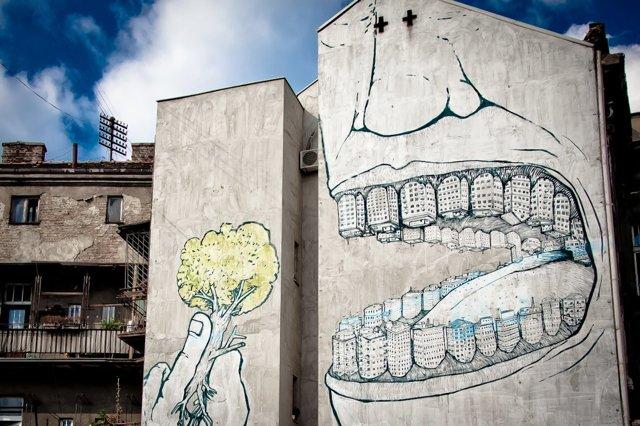 Mi sono innamorata di Blu, lo street artist inafferrabile