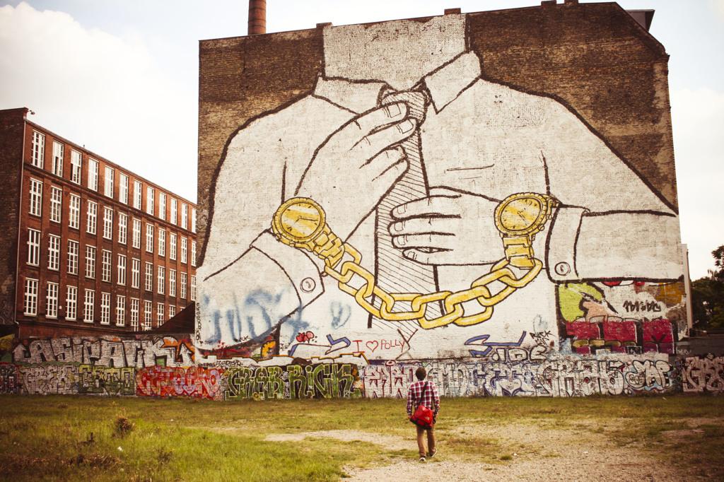 Mi Sono Innamorata Di Blu Lo Street Artist Inafferrabile