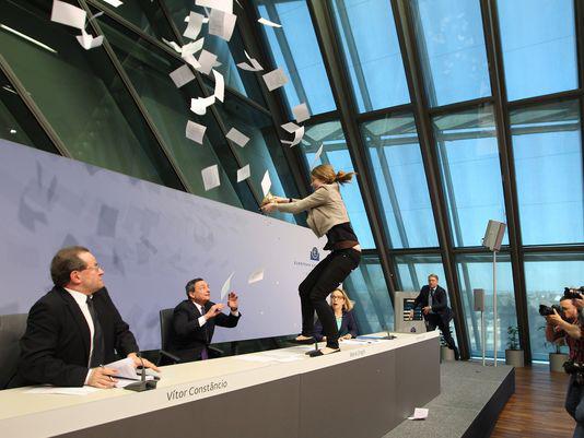 È stato facile, racconta l'attivista che ha contestato Mario Draghi