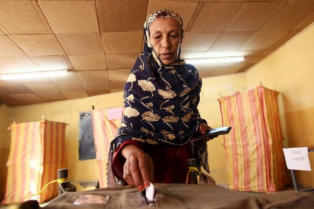 L'Etiopia che ha votato