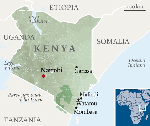 Malindi Cartina Geografica.Il Kenya Aspetta Il Ritorno Dei Turisti Donata Columbro Internazionale