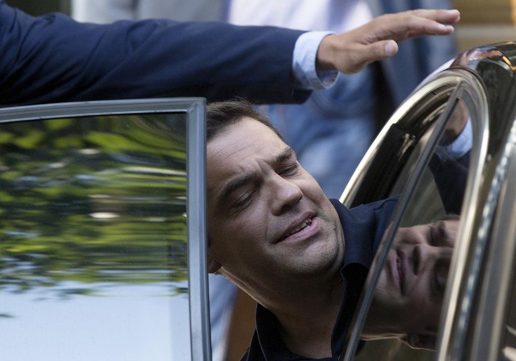La trasformazione di Alexis Tsipras