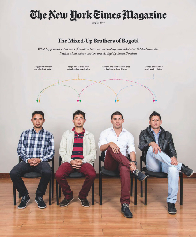 L'incredibile storia dei quattro gemelli scambiati