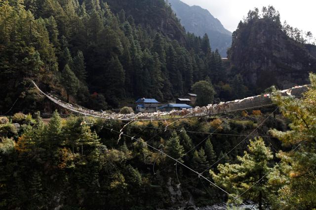 Un ponte sull'Everest