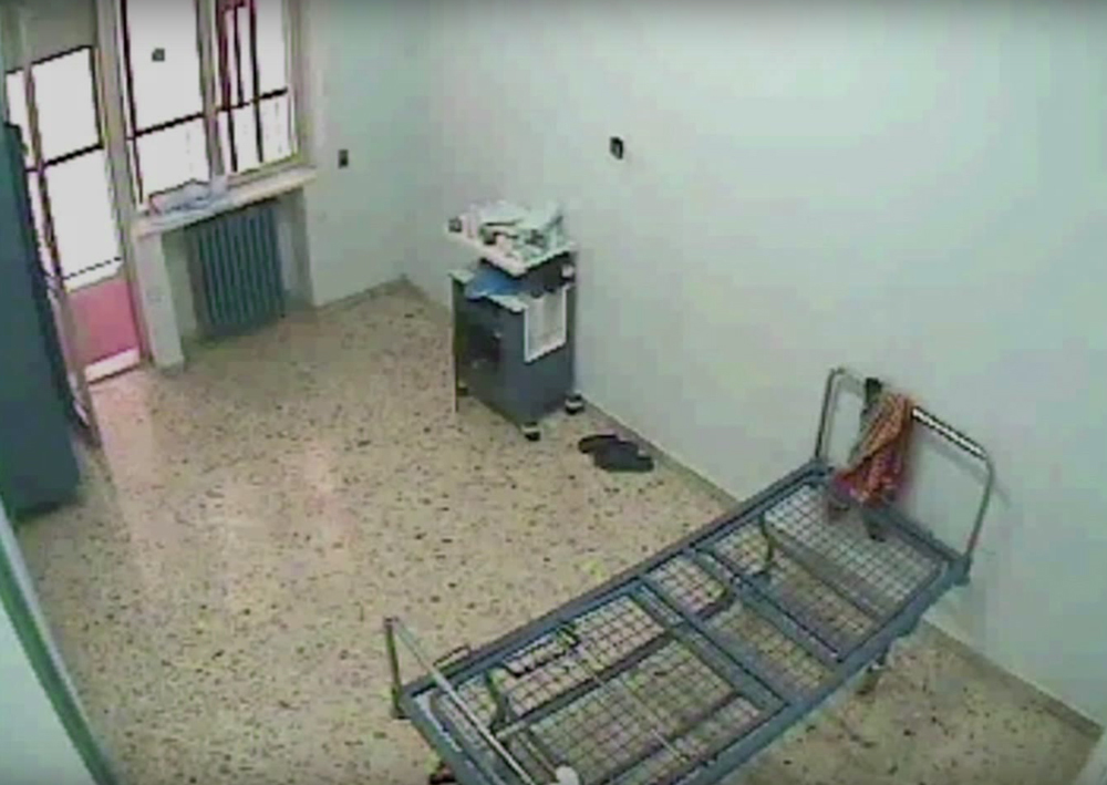 Un'immagine del film 87 ore – Gli ultimi giorni di Francesco Mastrogiovanni di Costanza Quatriglio. -
