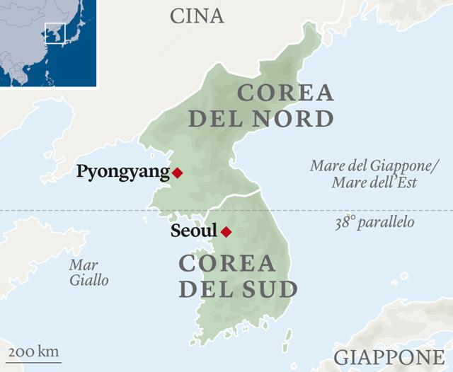 Cartina Mondo Corea.Perche Le Due Coree Sono Divise Pierre Breteau Internazionale