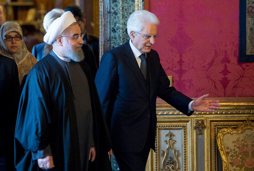 Perché l'Europa srotola i tappeti rossi al presidente iraniano Rohani