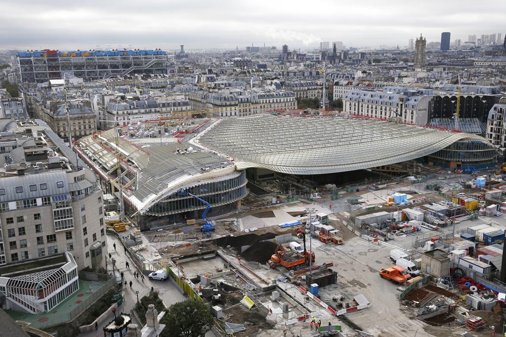 Il cuore di Parigi riprende vita con il restauro del mercato di Les Halles