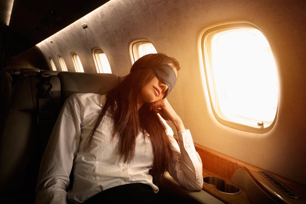 Un modo per sconfiggere il jet lag internazionale for Grandi jet d affari in cabina