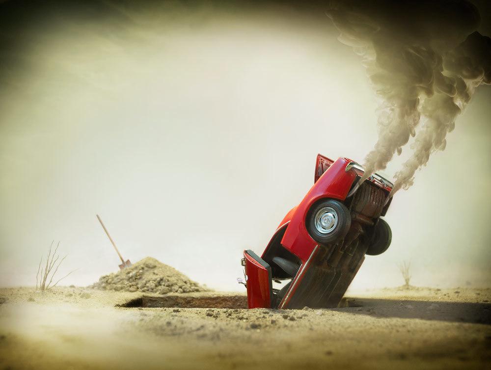 Gli incidenti d'auto succedono per tre motivi