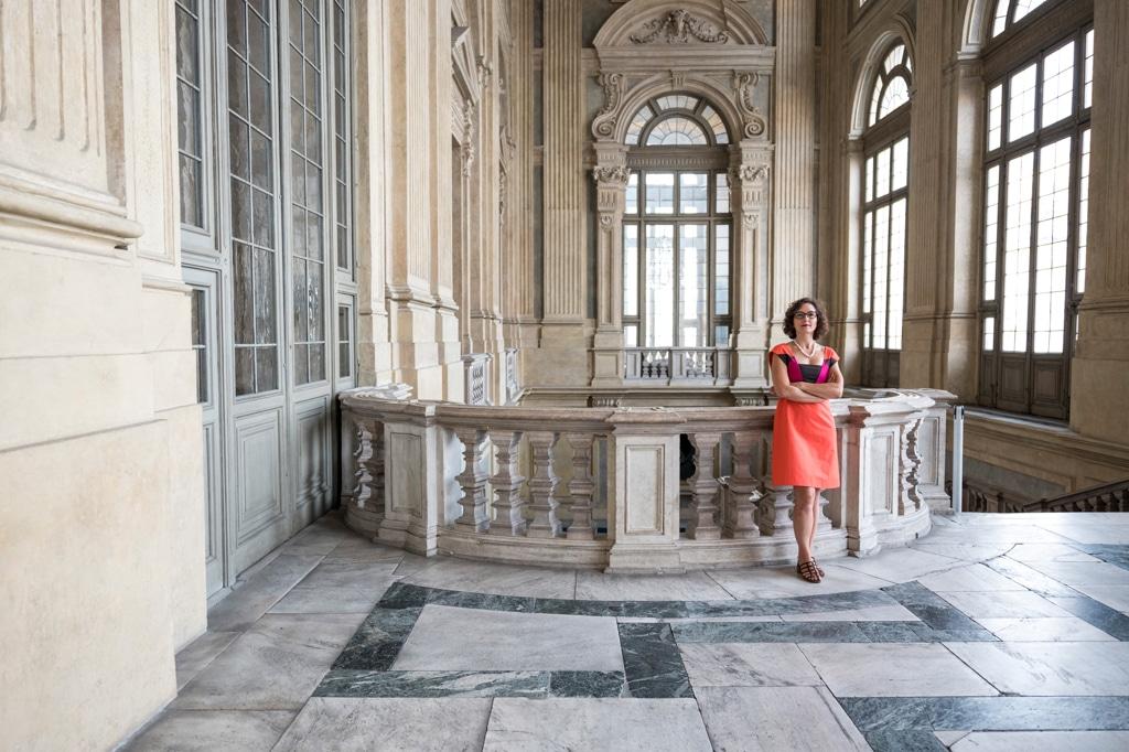 Francesca Leon a palazzo Madama, Torino, il 3 settembre 2016. - Daniele Ratti per Internazionale