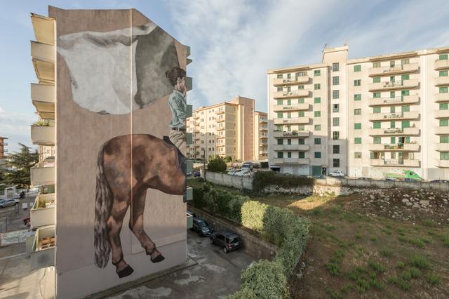 L'arte sui muri di Ragusa