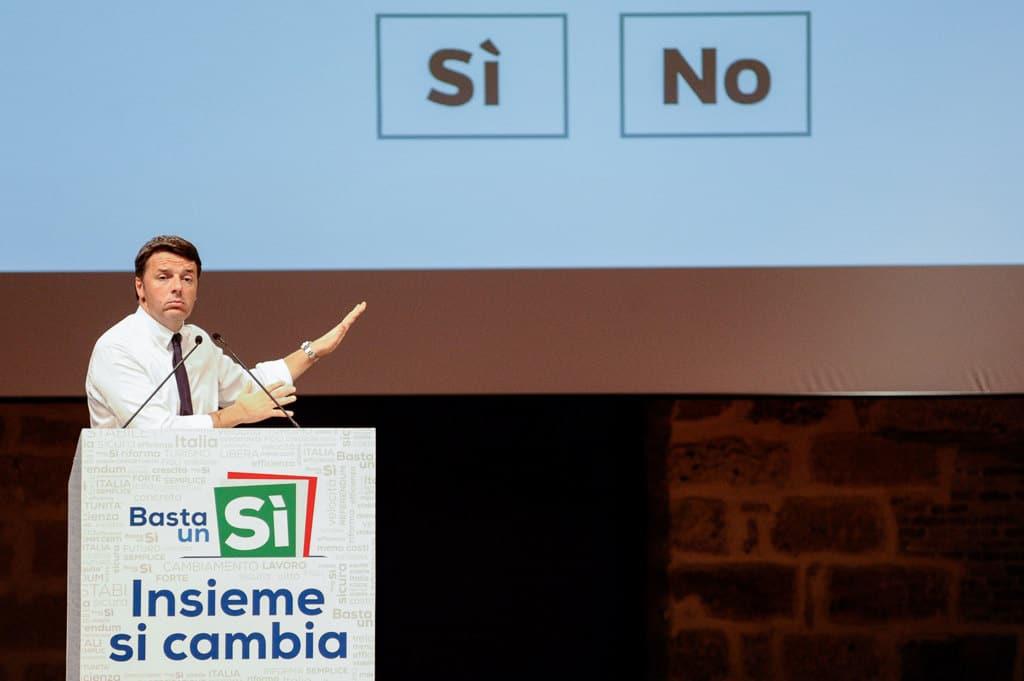 Il referendum costituzionale mostra le anomalie della politica italiana